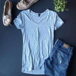 🌼J.crew Blue T shirt